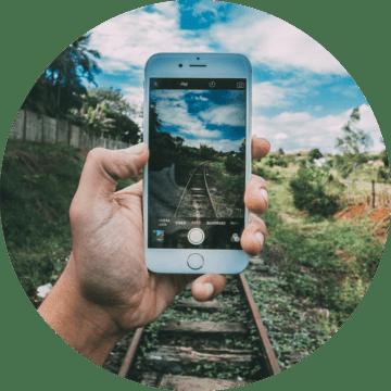 Utbildning filma sociala media mobilen Göteborg